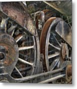 Spokes Of The Past Metal Print