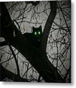 Spooky Cat Metal Print