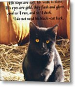 Spooky Quote Metal Print