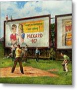 Sport - Baseball - America's Past Time 1943 Metal Print