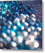Spotlighted Marble Abstract 4 Metal Print