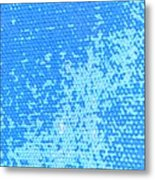 Spotted Canvas  Metal Print
