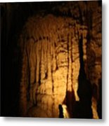 Spotted Growth - Cave Metal Print