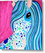 Spotted Horse Metal Print