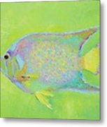Spotted Tropical Fish Metal Print