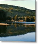 Sprague Lake At Dusk Rocky Mountain National Park Metal Print