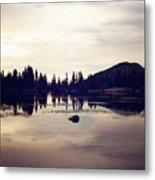 Sprague Lake At Sunset Metal Print