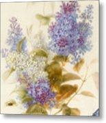 Spray Of Lilac Metal Print