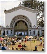 Spreckels Organ Pavilion Concert - San Diego Metal Print