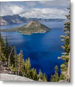 Spring Afternoon From Discovery Point Metal Print
