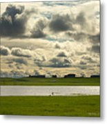 Spring Along The Shubenacadie River Metal Print