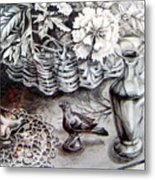 Spring Arrangemnt Metal Print