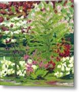 Spring At Osage Land Trust II Metal Print
