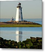 Spring At The Lighthouse Metal Print