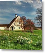 Spring At The Paine House Metal Print