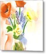 Spring Bouquet II Metal Print by Kip DeVore
