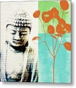 Spring Buddha Metal Print