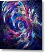 Spring Caught In The Maelstrom Metal Print