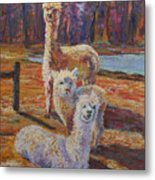 Spring Celebration - Mothers And Child Metal Print