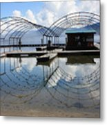 Spring Docks On Priest Lake Metal Print
