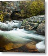 Spring Flow At Eagle Creek Metal Print