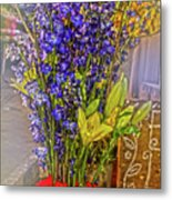 Spring Flowers For Sale Metal Print