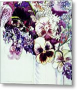 Spring Flowers With Fritillaria  Metal Print