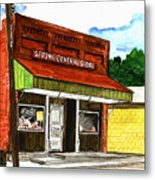 Spring General Store Sharpsburgh Iowa Metal Print