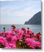 Spring In Cinque Terre Metal Print