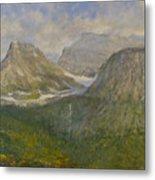 Spring In Glacier National Park Metal Print