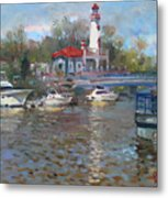 Spring In Lake Shore Metal Print