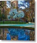 Spring In Madison Square Park Metal Print