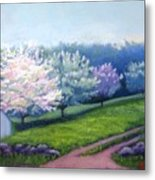Spring In New England Metal Print