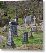 Spring In Oak Hill Cemetery #4 Metal Print