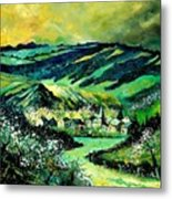 Spring In Tha Ardennes Metal Print