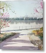 Spring In The City Metal Print
