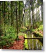 Spring In The Forest Metal Print