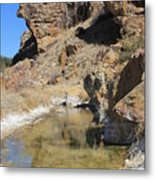 Spring In Vogel Canyon Metal Print