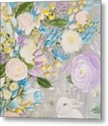 Spring Into Easter Metal Print