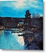 Spring Lake Nocturn Metal Print