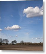 Spring Landscape Metal Print by Frits Selier