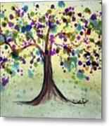 Colorful Tree Metal Print