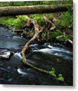 Spring Morning At Crum Elbow Creek I Metal Print