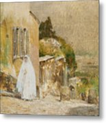 Spring Morning At Montmartre Metal Print by Childe Hassam