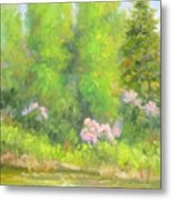 Spring On Gore Creek Metal Print