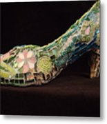 Spring On My Step Metal Print by Kimberly Barrow