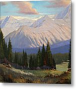 Spring On The Dallas Divide 070809-3624 Metal Print