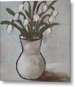 Spring On The Table Metal Print