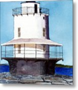Spring Point Ledge Light Metal Print