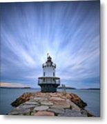 Spring Point Ledge Light Station Metal Print